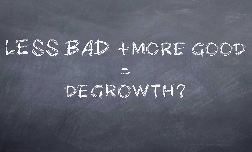 chalk degrowth